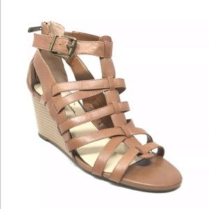 Jessica Simpson Strappy Caged Wedge Sandal 9.5